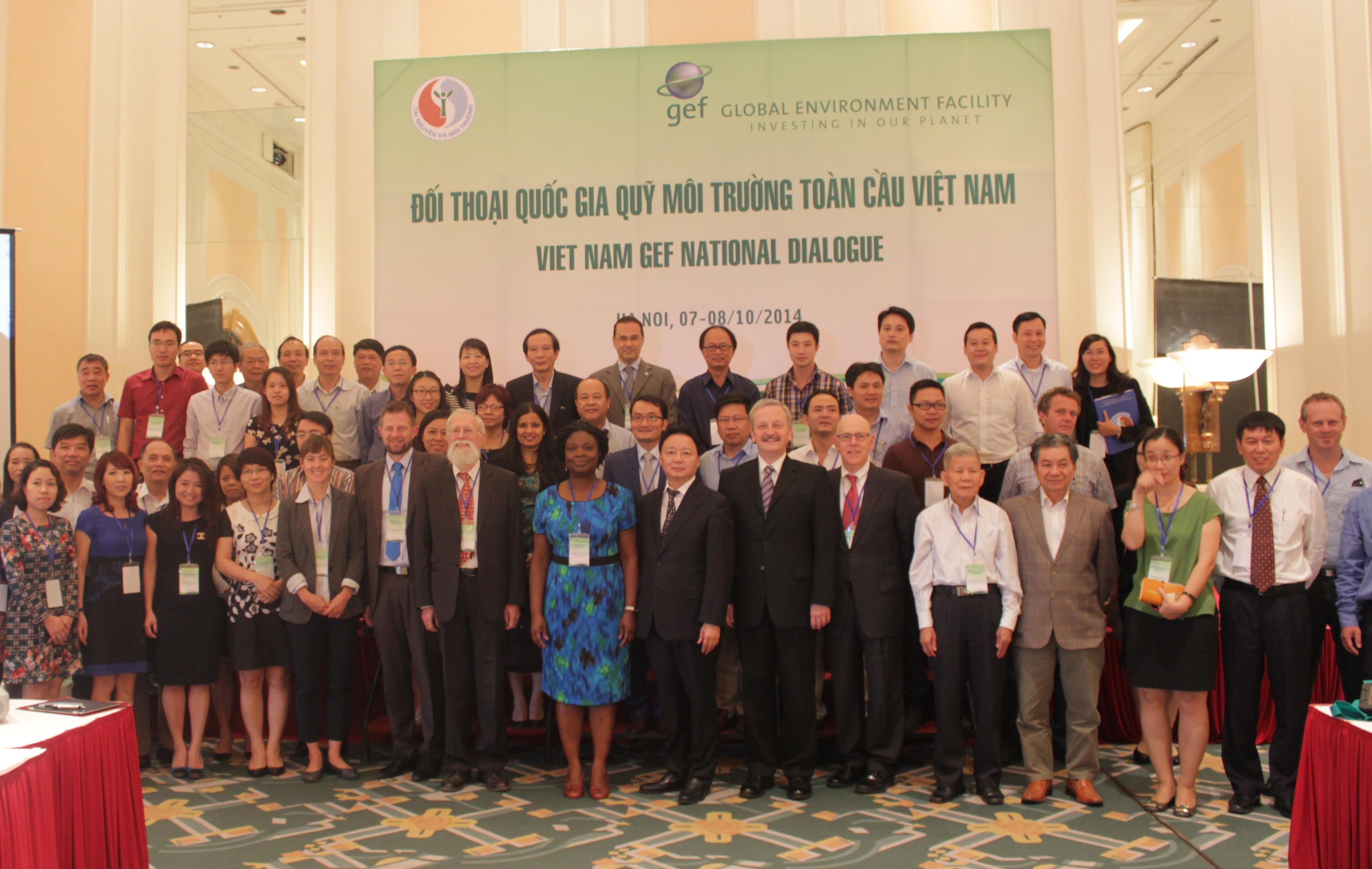Đối thoại quốc gia Quỹ Môi trường toàn cầu Việt Nam
